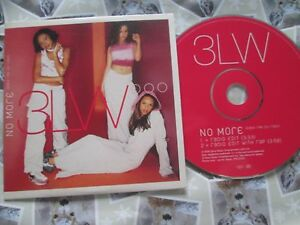 3LW-3LW-No-More-Baby-I-039-ma-Do-Right-Radio-Edit-XPCD-2507-UK-Promo-CD-Single