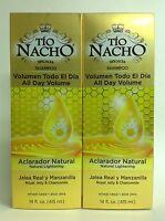 2 Tio Nacho Shampoos Natural Lightening 14oz/shampoo Tio Nacho Aclarante Natural