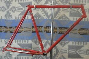 Sherpa-Dorado-Vintage-Mountain-Bike-Frame-1988-Tange-Prestige-Damaged-US-Charity