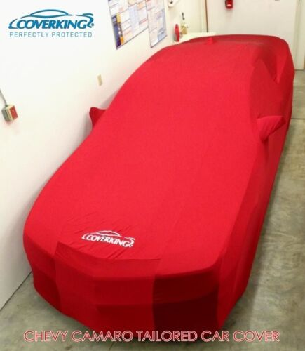 Premium Satin Stretch Indoor Tailored Car Cover for Chevy Camaro from Coverking