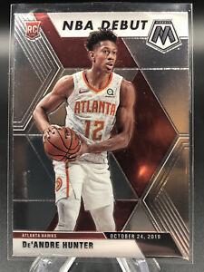 2019-20-Mosaic-De-039-Andre-Hunter-NBA-Debut-Rookie-Card-RC-Hawks-281-ATL
