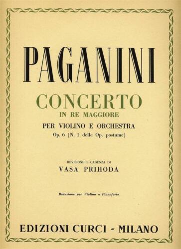 Concerto per violino e orchestra in Re m Vasa Prihoda Violin Piano MUSIC BOOK
