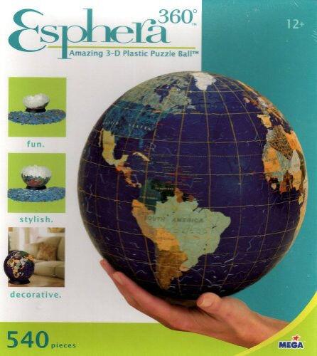 360 - grad - 3 - d - puzzle esphera erstaunlich ball new in box verschlossen