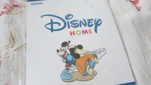 HTF BROTHER DISNEY HUGS AND KISSES Embroidery Card Rare and OOP NEWSEALED