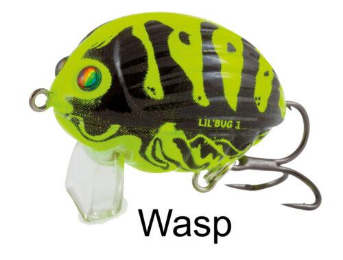 Käfer Kunstköder zum Spinnfischen Salmo Lil Bug Wobbler 3cm 4,3g schwimmend