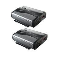 2) Cobra CPI1575 3000 Watt Car Power Inverters DC To AC