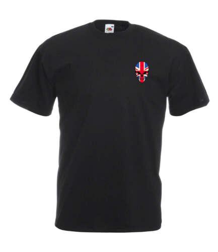 Union Jack Skull Graphic Design Quality t-shirt tee mens unisex