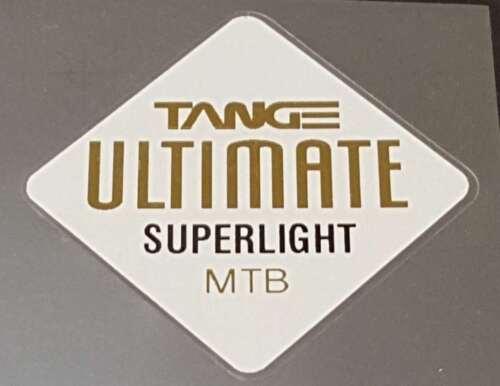sku Tang834 Mirror Gold on White Tange Ultimate Superlight Tubing Decal