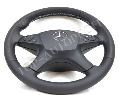 Mercedes W204 S204 Lenkrad Sportlenkrad Lederlenkrad neu beziehen top autoprofi