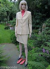 Kostüm Betty Barcley Gr. 36 Gr. 38 vanille beige edel first class zeitlos
