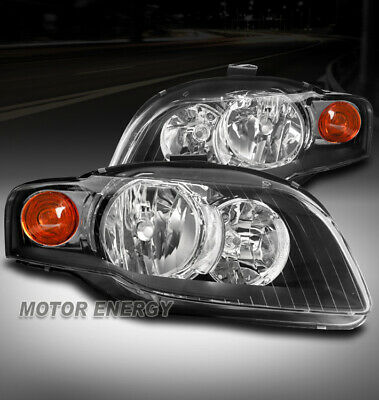 Bumper Reflector for Audi A4 05-08 Front Right and Left Side Set of 2