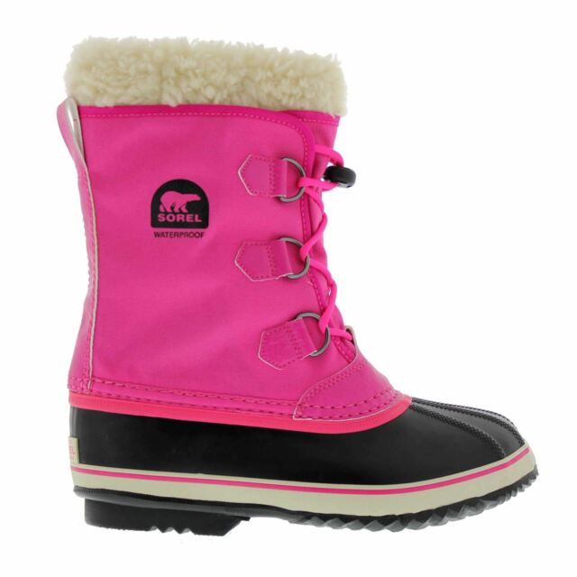 d72f5cd68927 Sorel  yoot Pac Nylon  Winter BOOTS Kids Pink EUR 39 for sale online ...