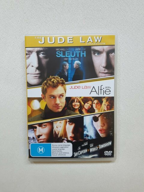The Jude Law Collection DVD Sleuth Alfie Sky Captain And The World Of Tomorrow