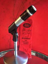Vintage 1970's Shure 545 dynamic cardioid microphone old w accessories SM57 545S