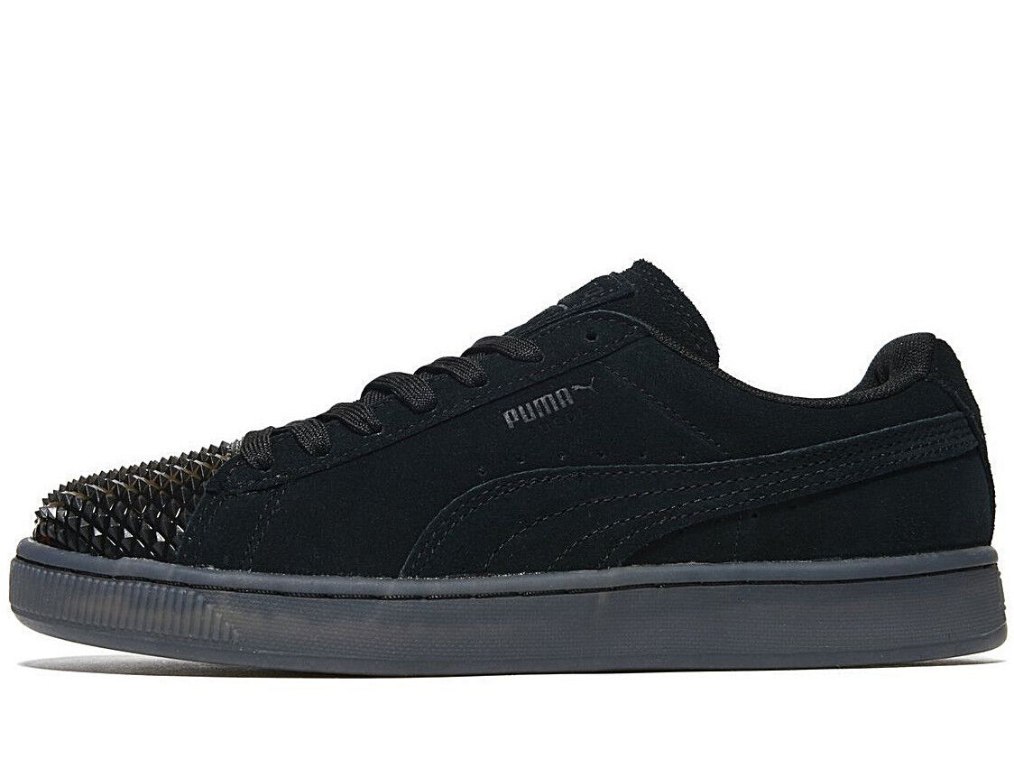 Genuine PUMA Suede Jelly femmes ® gris Noir NEW