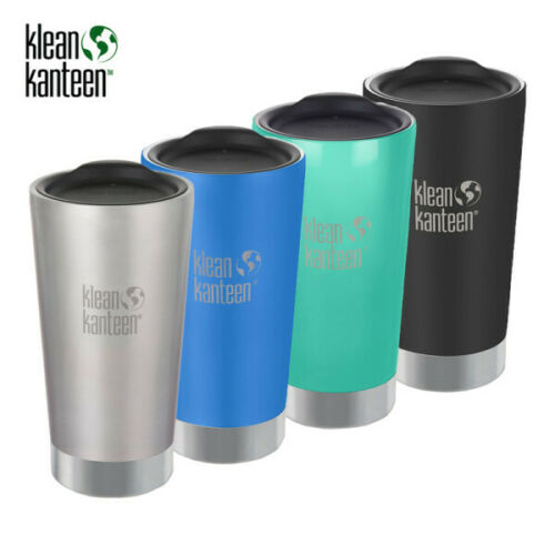 Klean Kanteen 16 oz Insulated Stainless Steel Tumbler with Lid PICK COLOR