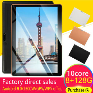 10-1-034-Android-9-0-8G-128G-HD-Tablet-PC-Deca-Core-Google-WIFI-Dual-Camera-Phablet
