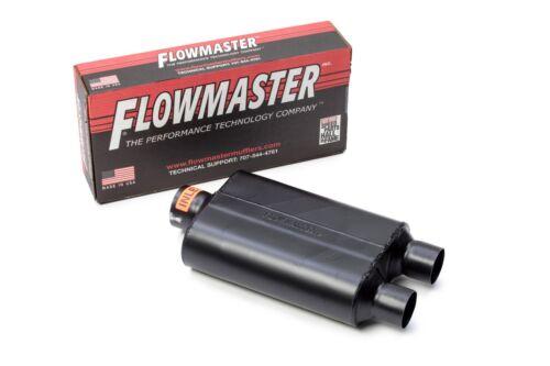 2009-2018 Chevy Silverado Dual Exhaust Flowmaster Super 44 Muffler Chrome Tips