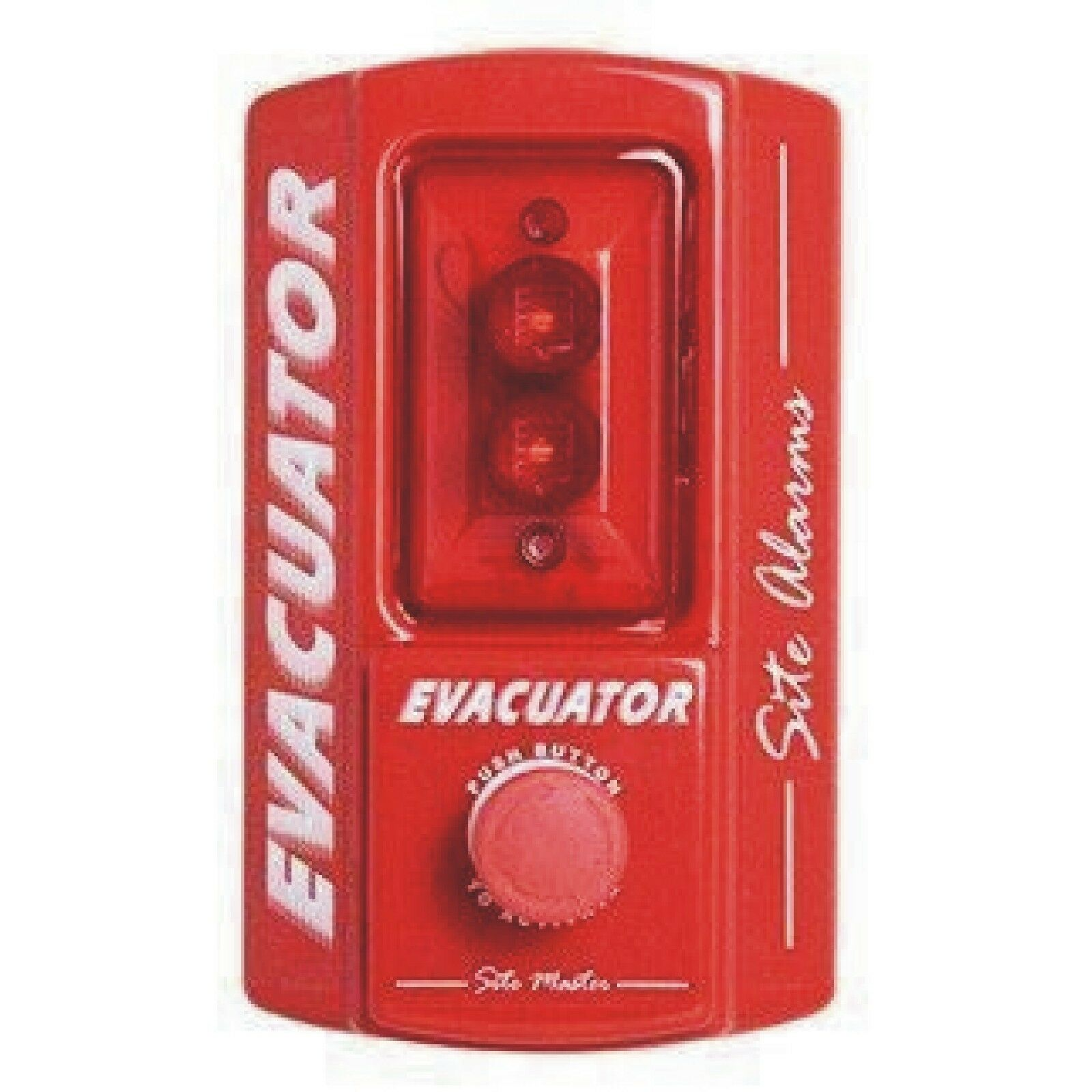 Nueva alerta de sitio sitio con Batería punto de llamada de alarma de incendio alerta de sitio