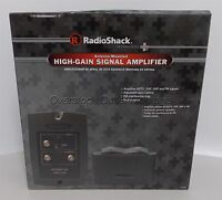 Radioshack Antenna-mounted High-gain Signal Amplifier Hdtv 15-259