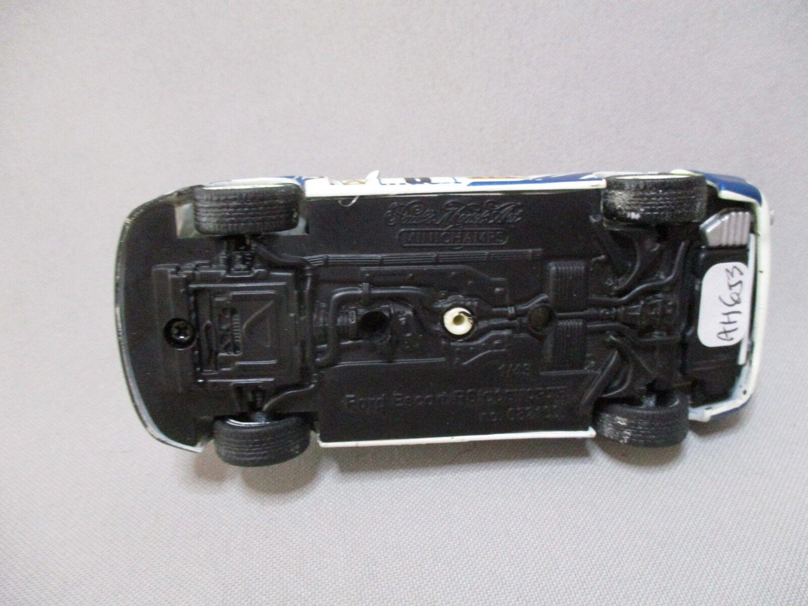 AH653 MINICHAMPS 1 43 FORD ESCORT RS RS RS COSWORTH RALLYE MONTE CARLO 1994 Ref 082100 8fa0e9