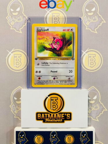 Jigglypuff 54//64 1st Edition NM Near Mint Junge Set Non-Holo Pokemon Card