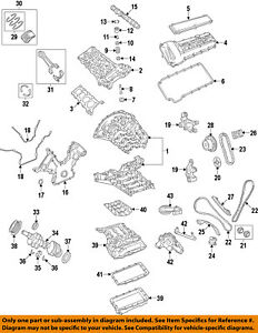 jaguar oem 98 09 xj8 engine timing chain tensioner c2a1512 2000 jaguar xj8 engine diagram image is loading jaguar oem 98 09 xj8 engine timing chain