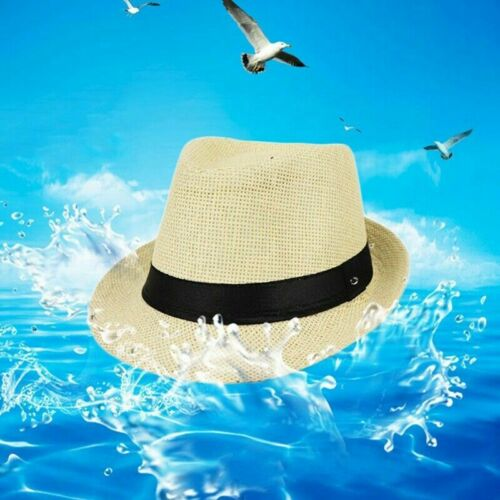 Baby Kids Boy Girl Hat Cap Breathable Hat Summer Beach Straw Sun Hat Fashion