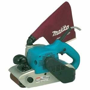 """Makita 9403 4""""100mm Belt Sander 100 x 610mm 240v 1200 watt uk plug Dust Bag"""