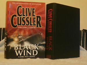 CLIVE-CUSSLER-amp-DIRK-CUSSLER-BLACK-WIND-1ST-1ST-U-K-HB-VGC