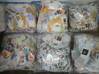 2 # pound LB US DAMAGED Postage Stamps On Paper Common Decoupage CLOSE CUTS CULS