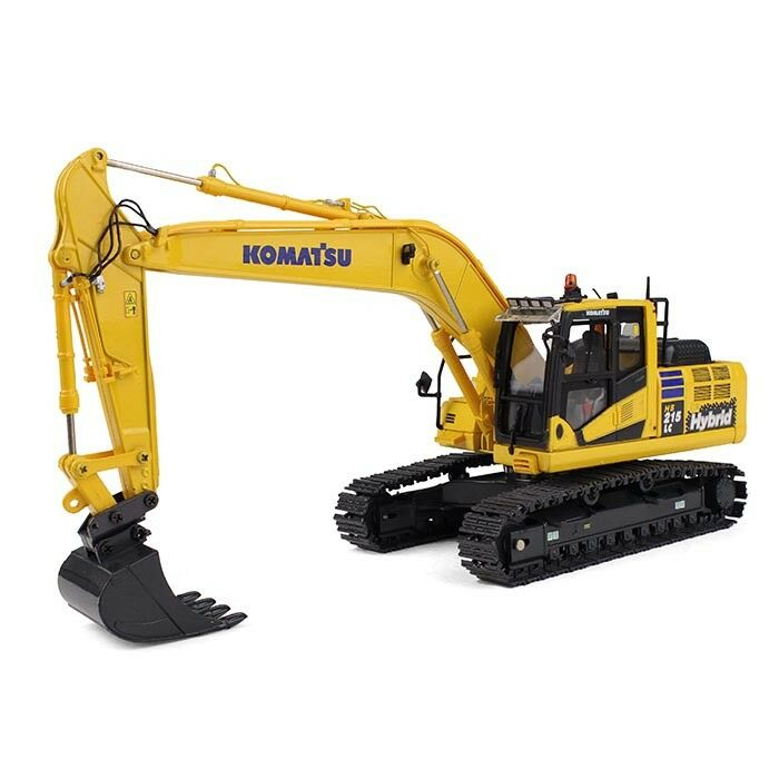 2017 FIRST GEAR 1 50 KOMATSU Model HB215LC-2 EXCAVATOR HIGH DETAILED NIB