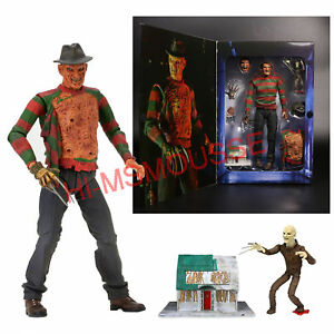 NECA-Nightmare-on-Elm-Street-Freddy-Ultimate-Dream-Warriors-7-034-Action-Figure-New
