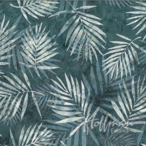 Hoffman Bali Batik Fabric Q 2104-173 Smoke Premium Cotton