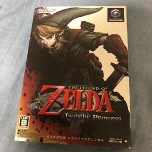 Nintendo-Gamecube-THE-LEGEND-OF-ZELDA-Twilight-Princess-GC-Japan-Game-Free-Ship