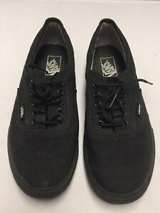 Vans Era Classic Black On Black Shoes Size  Men s US 8.5 Women s US ... 0ec953c6a