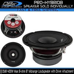 8-034-Midrange-Loud-Speaker-400W-8-ohm-Pro-DJ-Car-Audio-Mid-Range-DS18-PRO-HYBRID8