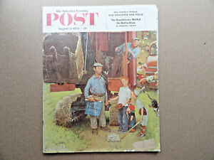 Saturday-Evening-Post-Magazine-August-21-1954-Complete