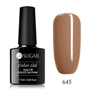 2-Bottles-UR-SUGAR-Gel-Nail-Polish-UV-LED-Sequined-Varnish-Soak-Off-Gel-Polish