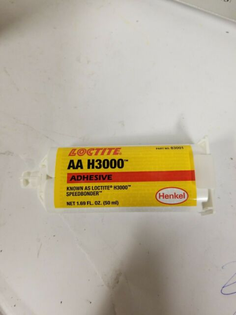 New Loctite AA H3000 Speedbonder 50ml two-part adhesive #83001 Free Shipping
