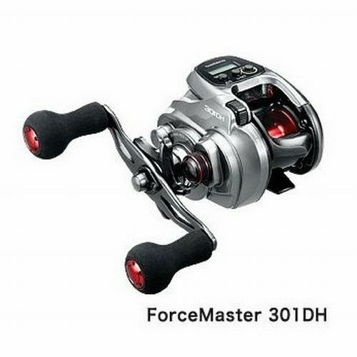 Shimano 16 fuerza Master 301-DH Electric Power Assist Carrete