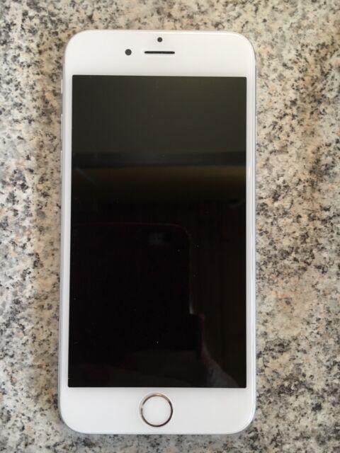 Apple iPhone 6 - 128GB - Silber (Ohne Simlock) Display Neu - Defekt