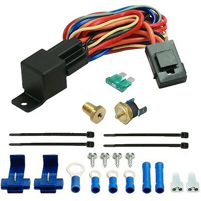"""4 PACK BULK 160/'F LOW TEMP ELECTRIC FAN THERMOSTAT SWITCH 1//8/"""" INCH ENGINE PROBE"""