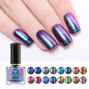 BORN-PRETTY-6ml-Magic-Nail-Polish-Shining-Glitter-Tips-Nail-Art-Varnish