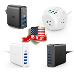 Anker-PowerIQ-PowerPort-Cube-USB-Travel-Wall-Charger-2-4-5-6-10-Ports-Many-Model