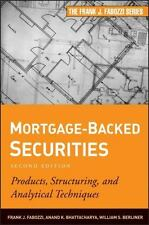 Mortgage-Backed Securities: Products, Structuring, and Analytical Techniques by