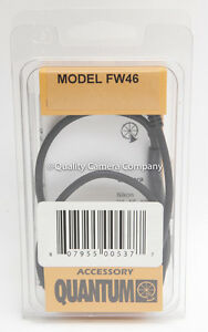 Details about Quantum FW46 Two-Step Motor Drive Cord for Canon 1/1N, A2/A2E  with T3 Socket NEW