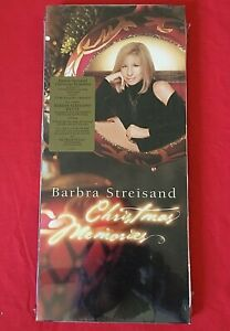 BARBARA STEISAND CD SEALED Long Box CHRISTMAS MEMORIES Hype Sticker 2001