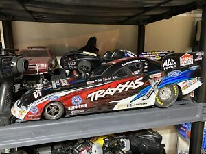 🔥Traxxas courtney Force RC car FAST!! NO RESERVE! 🔥ULTRA RARE ONLY 1 On Ebay!!