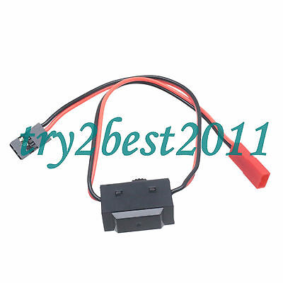 2pcs RC RECEIVER RX JST TO JR MALE SERVO ON//OFF SWITCH AIRPLANE CAR BOAT